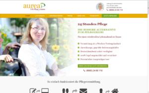 www.aurea-pflegevermittlung.de